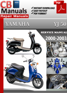 yamaha yj 50 2000-2003 service repair manual