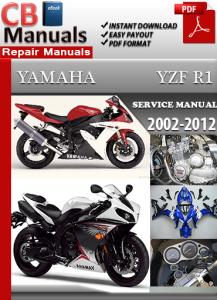 yamaha yzf r1 2000-2012 service repair manual