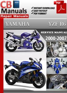 Yamaha YZF R6 2000-2007 Service Repair Manual | eBooks | Automotive