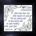 Name Blessings - William 2 | Crafting | Cross-Stitch | Other