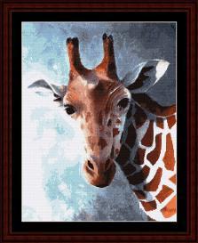 Giraffe - SuzyPal cross stitch pattern by Cross Stitch Collectibles   Crafting   Cross-Stitch   Wall Hangings