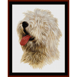 Old English Sheepdog - Robert J. May cross stitch pattern by Cross Stitch Collectibles | Crafting | Cross-Stitch | Wall Hangings