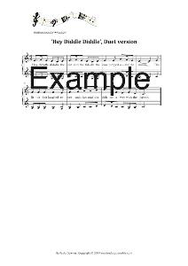 the alphabet song unaccompanied vocal duet version