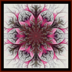 Fractal 434 cross stitch pattern by Cross Stitch Collectibles | Crafting | Cross-Stitch | Wall Hangings