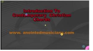 intro- contemporary christian chords