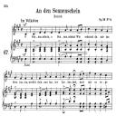 An den Sonnenschein Op.36 No.4, Medium Voice in A Major (Original Key), R. Schumann, C.F. Peters | eBooks | Sheet Music