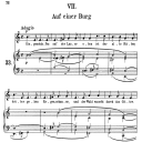 Auf einer Burg Op.39 No.7, Medium Voice in E minor (Original Key), R. Schumann (Liederkreis), C.F. Peters | eBooks | Sheet Music