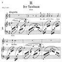 Der Nussbaum Op.25 No.3, Medium Voice in F Major, R. Schumann (Myrten), C.F. Peters | eBooks | Sheet Music