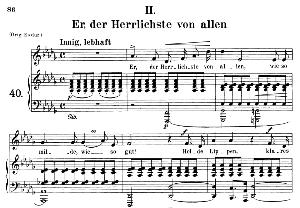 er, der herrlichste von allen op 42 no. 2, medium voice in d flat major, r. schumann (frauenliebe und leben), c.f. peters