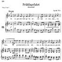 Frühlingsfahrt Op.45 No.2, Medium Voice in C Major, R. Schumann | eBooks | Sheet Music