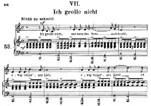 Ich grolle nicht Op.48 No.7, Medium Voice in C Major, R. Schumann (Dichterliebe), C.F. Peters | eBooks | Sheet Music
