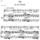 In der Fremde Op 39 No.8, Medium Voice in G minor, R. Schumann (Liederkreis), C.F. Peters | eBooks | Sheet Music
