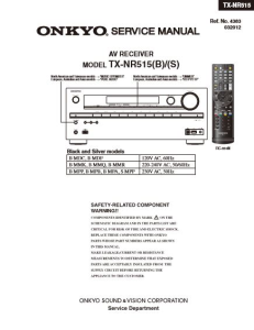 onkyo tx nr515 receiver original service manual download ebooks rh store payloadz com onkyo r1 receiver manual onkyo receiver manual tx sr606