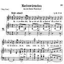 Marienwürmchen Op 79 No.14, Medium Voice in E Flat Major, R. Schumann, C.F. Peters | eBooks | Sheet Music