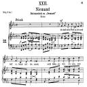 Niemand Op. 25 No.22, Medium Voice in E Flat Major,R. Schumann (Myrten), C.F. Peters | eBooks | Sheet Music