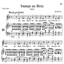 Sonntags am Rhein Op.36 No.1, Medium Voice in C Major, R. Schumann, C.F. Peters | eBooks | Sheet Music