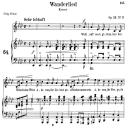 Wanderlied Op.35 No.3, Medium Voice in A-Flat Major, R. Schumann, C.F. Peters | eBooks | Sheet Music