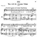 Was will die einsame träne Op.25 No.21, Medium  Voice in G Major, R. Schumann (Myrthen), C.F. Peters | eBooks | Sheet Music