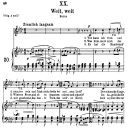 Weit, weit Op.25 No.20, Medium Voice in F Minor, R. Schumann (Myrthen) | eBooks | Sheet Music