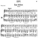 Zum schluss Op.25 No.26, Medium Voice in G Flat Major, R. Schumann (Myrten); C.F. Peters | eBooks | Sheet Music