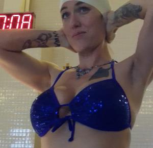 goddess cindy's underwater workout