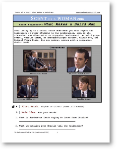 scent of a woman, what makes a baird man, short-sequence english (esl) lesson