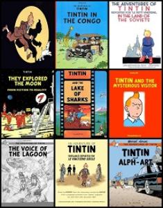 rare tintin comics pack
