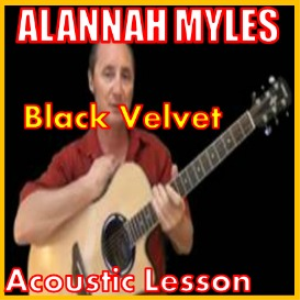 Learn to play Black Velvet by Alannah Myles | Movies and Videos | Educational