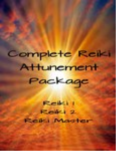 complete reiki attunement package