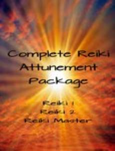 complete reiki attunement package