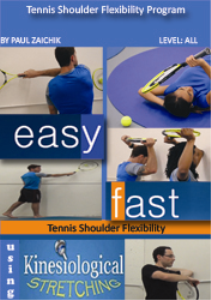 tennis shoulder flexibility program