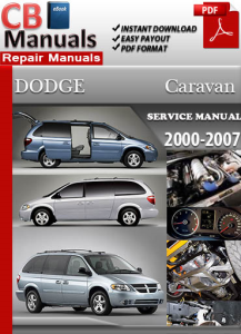 Dodge Caravan 2000 2007 Service Repair Manual Ebooks border=