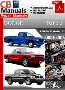 dodge dakota 2000-2005 service repair manual