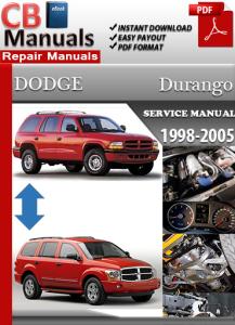 dodge durango 1998-2005 service repair manual