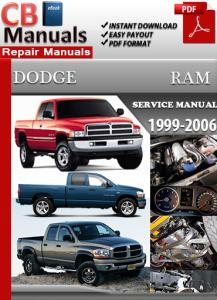 Dodge Ram 1999-2006 Service Repair Manual | eBooks | Automotive