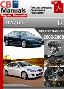 mazda 6 2002-2008 service repair manual