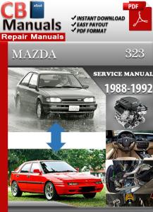 mazda 323 1988-1992 service repair manual