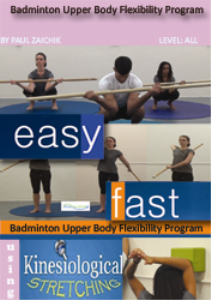 badminton upper body flexibility program