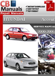 Hyundai accent 2005 manual repair pdf