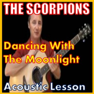 learn to play dancing with the moonlight by the scorpions