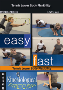 tennis lower body flexibility