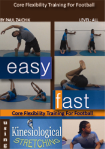 core flexibility training for football