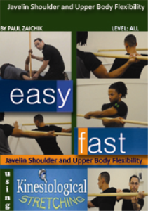 javelin shoulder and upper body flexibility