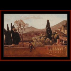 Ecce Homo - Correggio cross stitch pattern by Cross Stitch Collectibles | Crafting | Cross-Stitch | Wall Hangings