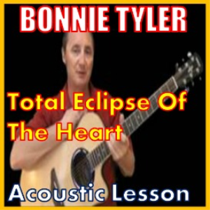 learn to play total eclipse of the heart by bonnie tyler