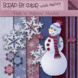 Hats n Mittens | Other Files | Scrapbooking
