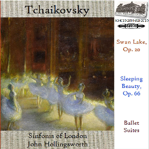 tchaikovsky: swan lake/sleeping beauty - ballet suites - sinfonia of london.john hollingsworth