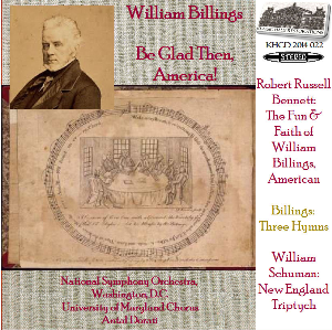 music by william billings, bennett & schuman - nso dc/antal dorati
