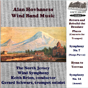 hovhaness: wind band music - north jersey wind symphony/keith brion