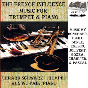 the french influence - music for trumpet & piano - gerard schwarz, trumpet
